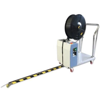 halbautomatische-umreifungsmaschine-paletten
