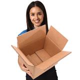 3-welliger Faltkarton AAC braun 0201 395x295x240