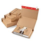 Braune Buchverpackung