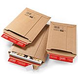 Medienverpackung C5 braun 230x165x0-80mm