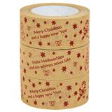 Weihnachtliches Papierklebeband